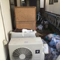 熊本市 公費解体前のエアコン 小物ゴミ処分賜ります。洗濯機持込み無料回収処分実施中‼️