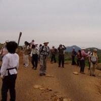 ② 久住山(ブログ未発表の名峰) : 岩が点在する