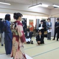 きものの基礎講座!~日本写真映像専門学校さんと合同授業♪~