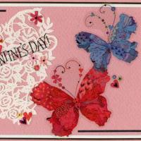 Cardごのみ437~冬の装い&麗しい蝶たち