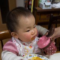 元気が一番 カレーライス大好き 勿論 幼児用だけどぉ・・・