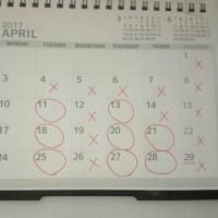 4月の開店日!