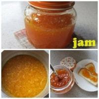 綺麗なオレンジ色「はっさく」のジャム完成。