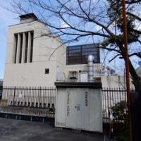 2017・3・27  おばさんぽ  三吉演芸場の並びは日本国石鹸工場発祥の地。堤磯右衛門石鹸工場跡。そういえば昨夜はLEADERSⅡを観たな。。。