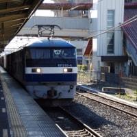 EF210-4号機@吹上駅