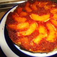 にわか料理研究をして、「リンゴのケーキ」を作りました