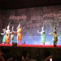 カンボジア・ベトナム紀行(5) 3/7伝統芸能アプサラの踊り