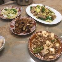 3/25夕食の中華も糖質オフです。