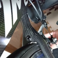 TIME RXRSに25Cのタイヤが装着できるか?