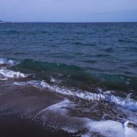 波と遊んだ午後  七里ヶ浜