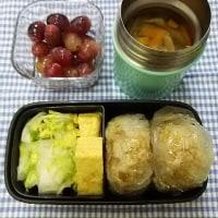 たぬきむすび弁当:蕎麦屋の揚玉を活かす