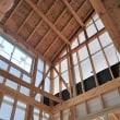 良い家を造って売りたいプロジェクト!大原の当社分譲地『 ここはリゾート?な家(仮名) 』。大工工事順調進行中!です。