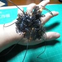 ハロウィンの蜘蛛を工作する