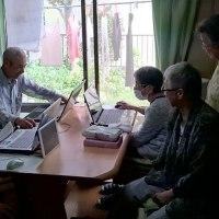 金曜日のパソコン教室には7名が参加しました。