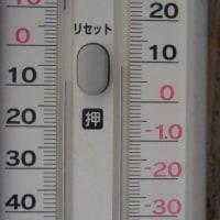 平成29年4月22日・今朝の東祖谷9.3℃