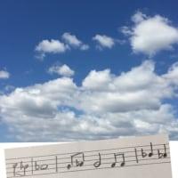 今日の空と音トリ