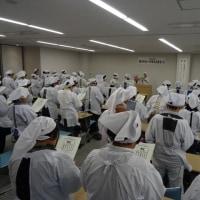 炊き出し訓練~赤十字奉仕団