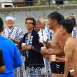 祈りの遠泳 御供物流し 石上神社例祭
