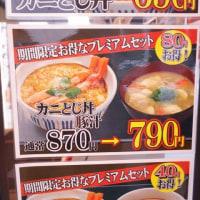 なか卯の牛丼と坦々うどん