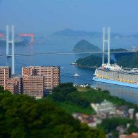 クアンタム・オブ・ザ・シーズ  日本の港・第3位選出の長崎港へ 2017/2/11