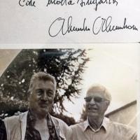 アレッサンドローニ氏もお亡くなりになりました…