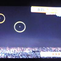 11/3 森田さんの 左は金星 右は三日月 これは昨日のお天気