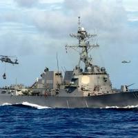 南シナ海 「航行の自由作戦」 7ヶ月ぶり、トランプ政権初の実施