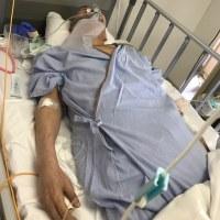 入院3日目の父
