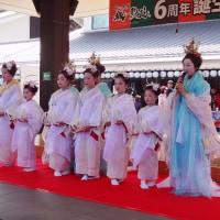 桜の馬場城彩苑6周年誕生記念祭!