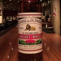GM・GEORGE & J.G.SMITH'S / GLENLIVET21YEARS(Bottled2011)  700ml,43%