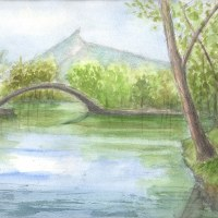 初夏の大沼