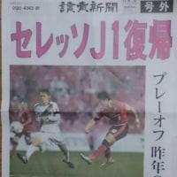 セレッソ大阪がJ1復帰しました