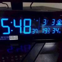 デジタル置時計を買いました。かっこよくて気に入りました。