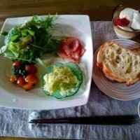 今朝の食卓