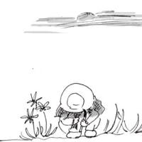 花畑でマッチョに遭遇