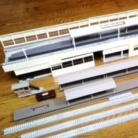 駅ジオラマの制作を始めました