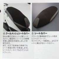 新発売!! ヤマハ アクシスZ(LTS125)アクセサリー!!