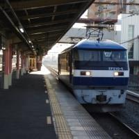 EF210-105号機@吹上駅