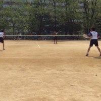 テニス部、頑張りました。