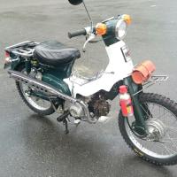 愛車紹介 カブ72cc