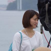 2017長崎帆船まつり 開幕初日 NCC(長崎文化放送)アナウンサー・藤坂奈央 2017・4・20