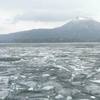 阿寒湖の砕氷船