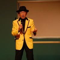 (写真と動画)「漫談で学ぶ憲法改正案」 笑工房:小林康二さん 第26回滋賀県高齢者大会 20161020