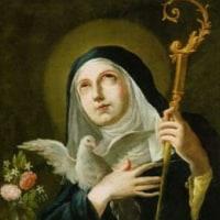聖スコラスチカおとめ   St. Scholastica V.