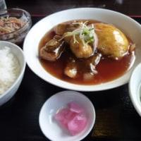 白身魚と野菜の玉子とじ甘酢あんかけ