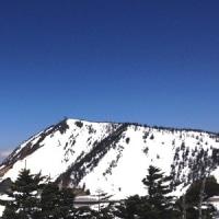 晴天のスノーシュートレッキング