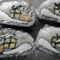 飾り巻き寿司教室に行ってきました