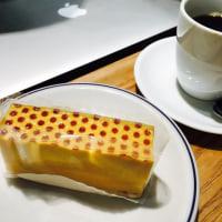 ハニー&ジンジャーソーダとドット模様のかぼちゃケーキ