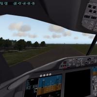 X-Plane11のBoeing787