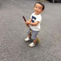 1歳になったね、小晴